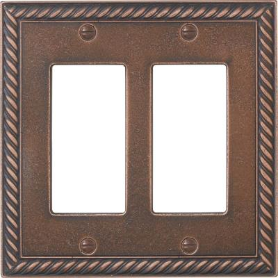 decorative light switches.htm legrand adorne 2 gang 2 module wall plate oil rubbed bronze with  wall plate oil rubbed bronze