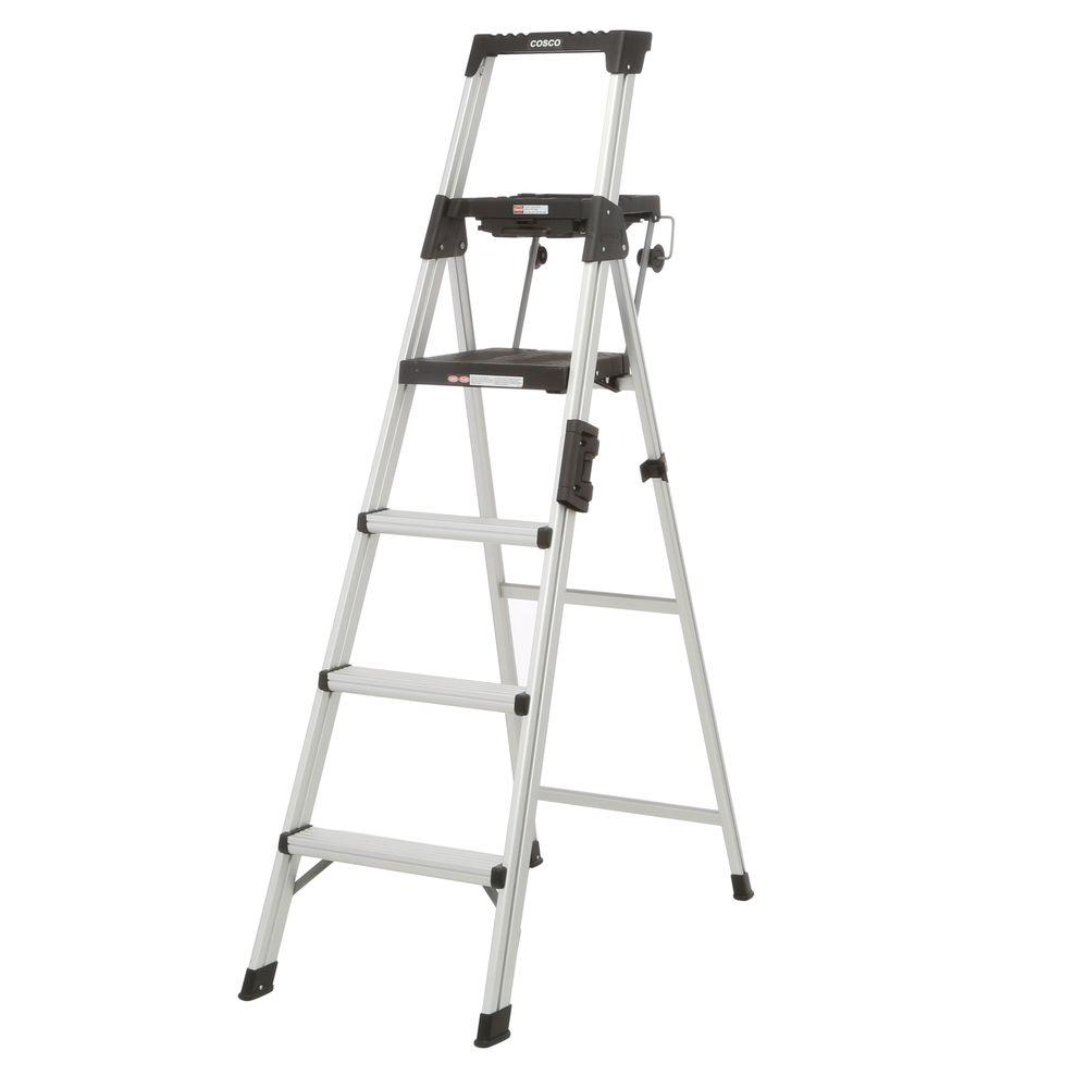 Work Platforms - Ladders - The Home Depot on pontoon boat ladders, dock ladders, home step ladders, damaged ladders, home library ladders, ikea ladders, snakes and ladders, home platform ladders, types of ladders, fastenal ladders, costco ladders, extension ladders, small boat ladders, attic ladders, cosco ladders, 22 ft little giant ladders, word ladders, apple ladders, women on ladders, folding boat ladders,
