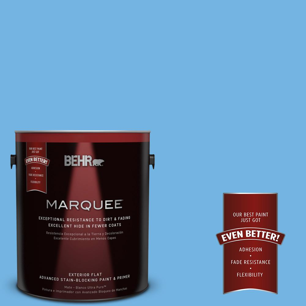 BEHR MARQUEE 1-gal. #P510-4 Electra Flat Exterior Paint