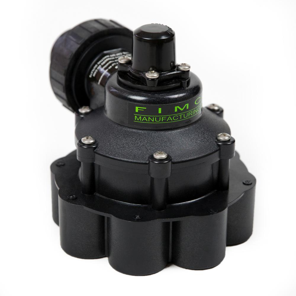 1 in. 8 Zone Indexing Valve with 7 Zone Cam