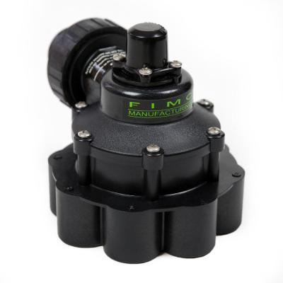 1 in. Mini 8 Outlet Indexing Valve with 7 Zone Cam