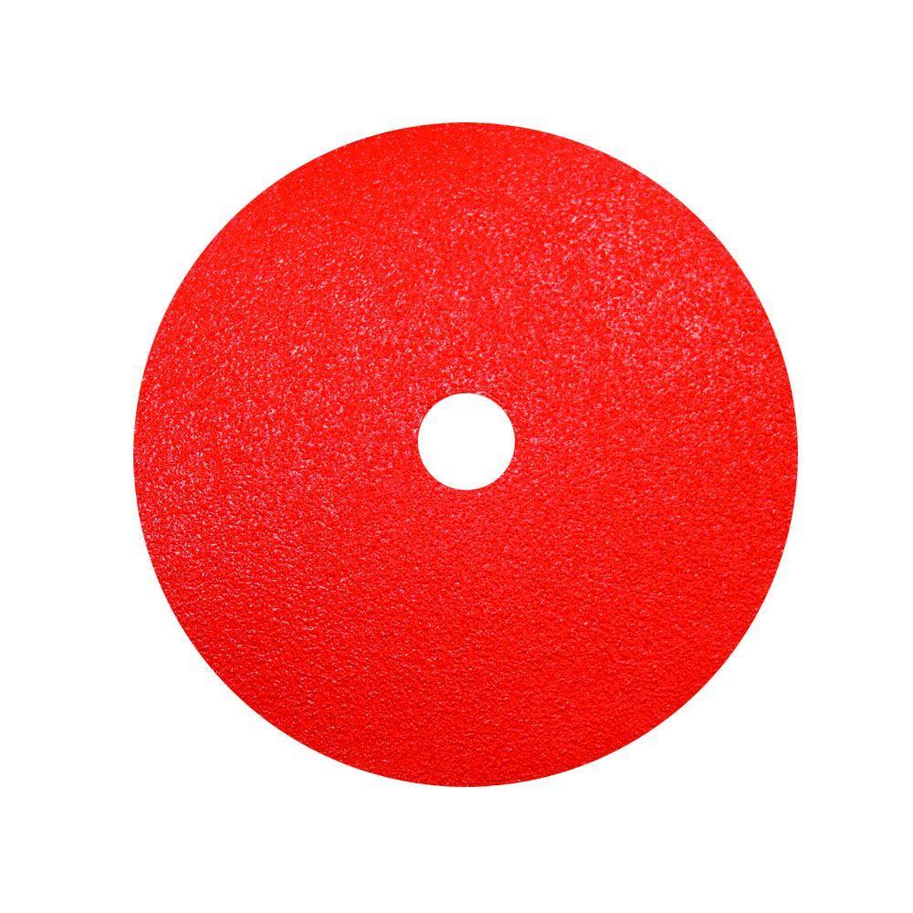 7 in. 24-Grit Fiber Disc (2-Pack)