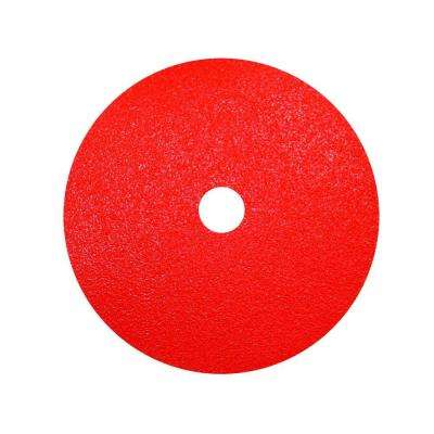 7 in. 50-Grit Fiber Disc (2-Pack)