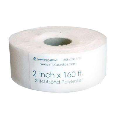 2 in. x 160 ft. Polyester Fabric Stitchbond