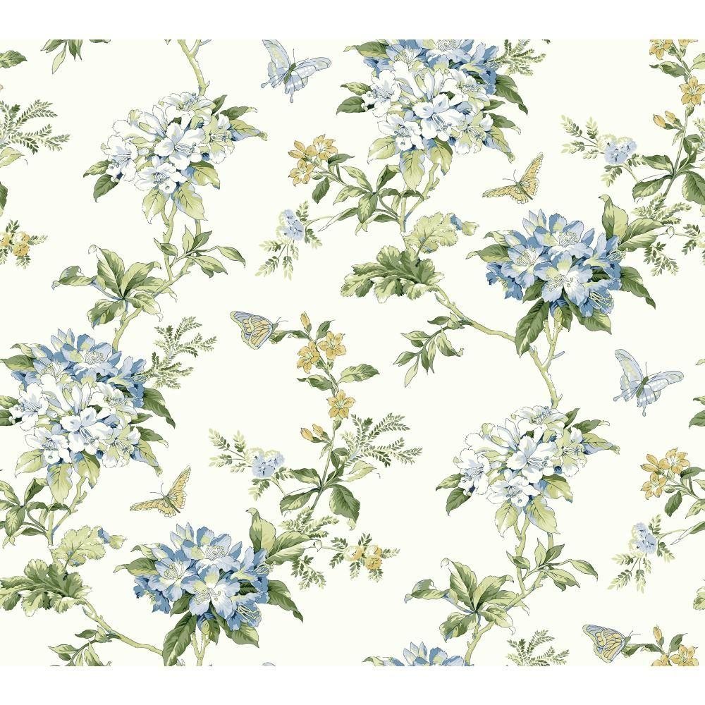 York Wallcoverings Waverly Cottage Fawn Hill Wallpaper