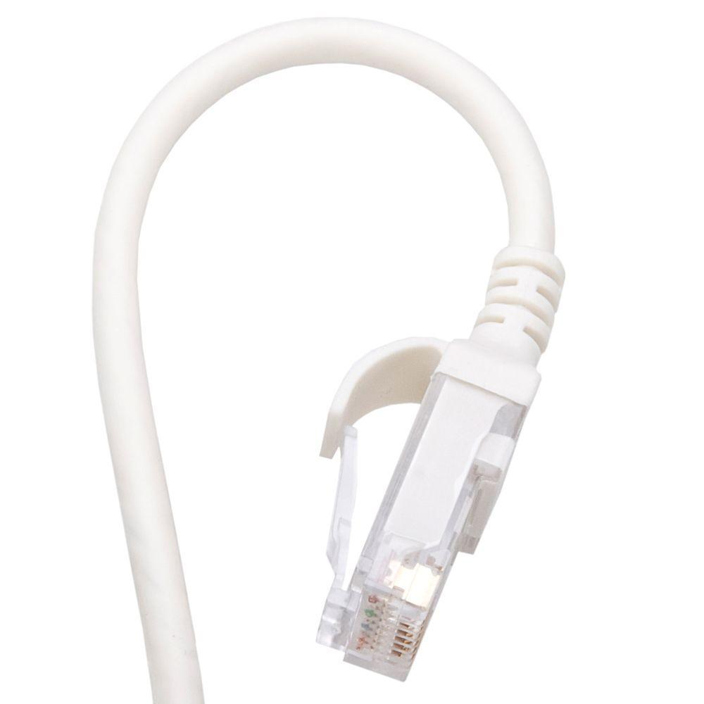 3 ft. White Cat 6 Flex Cord