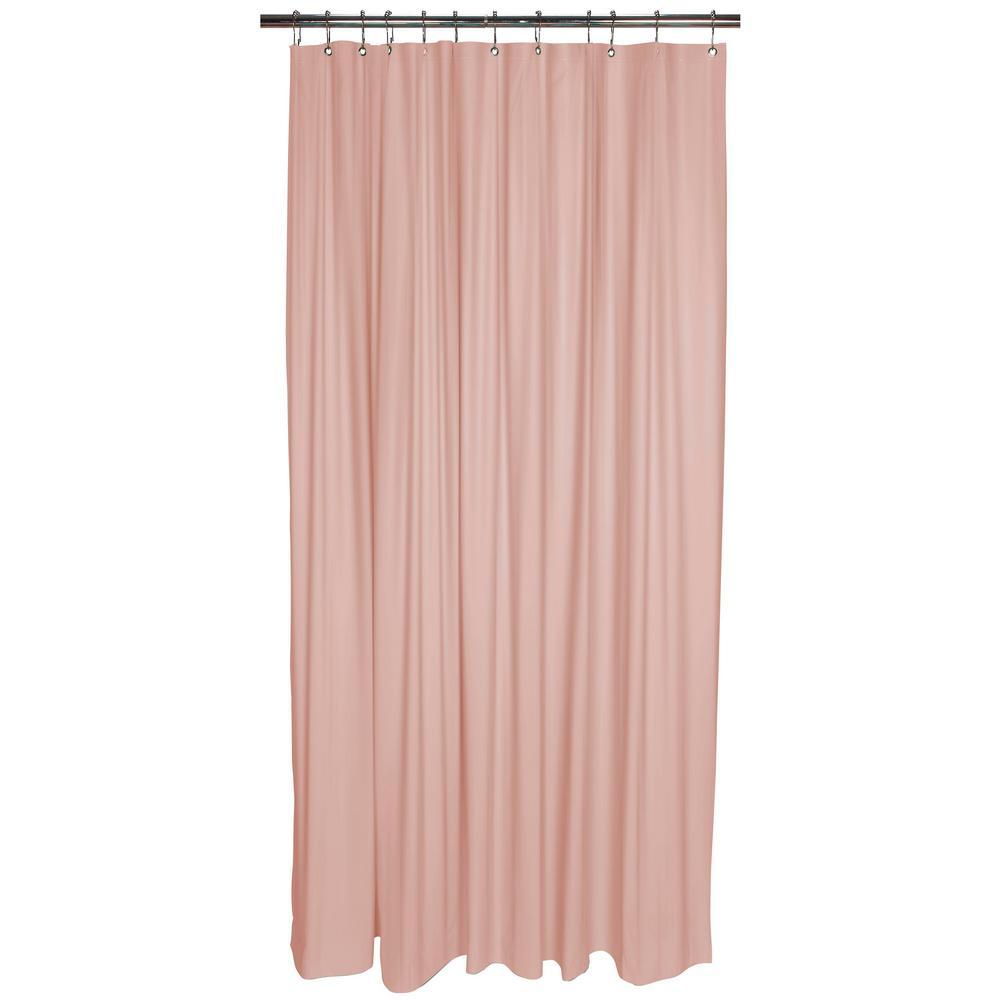 Heavy Grommet Shower Liner in Pink