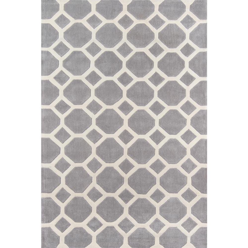 Bliss Grey 8 ft. x 10 ft. Indoor Area Rug