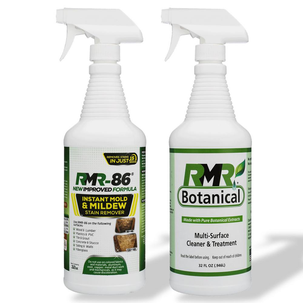 Botanical Multi Surface Cleaner Treatment Mold Stain Remover 32 Oz Spray 2 Pack