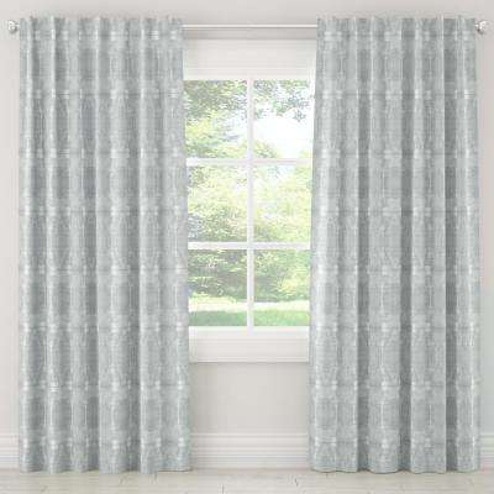 50 in. W x 63 in. L Unlined Curtains in Bali Mist