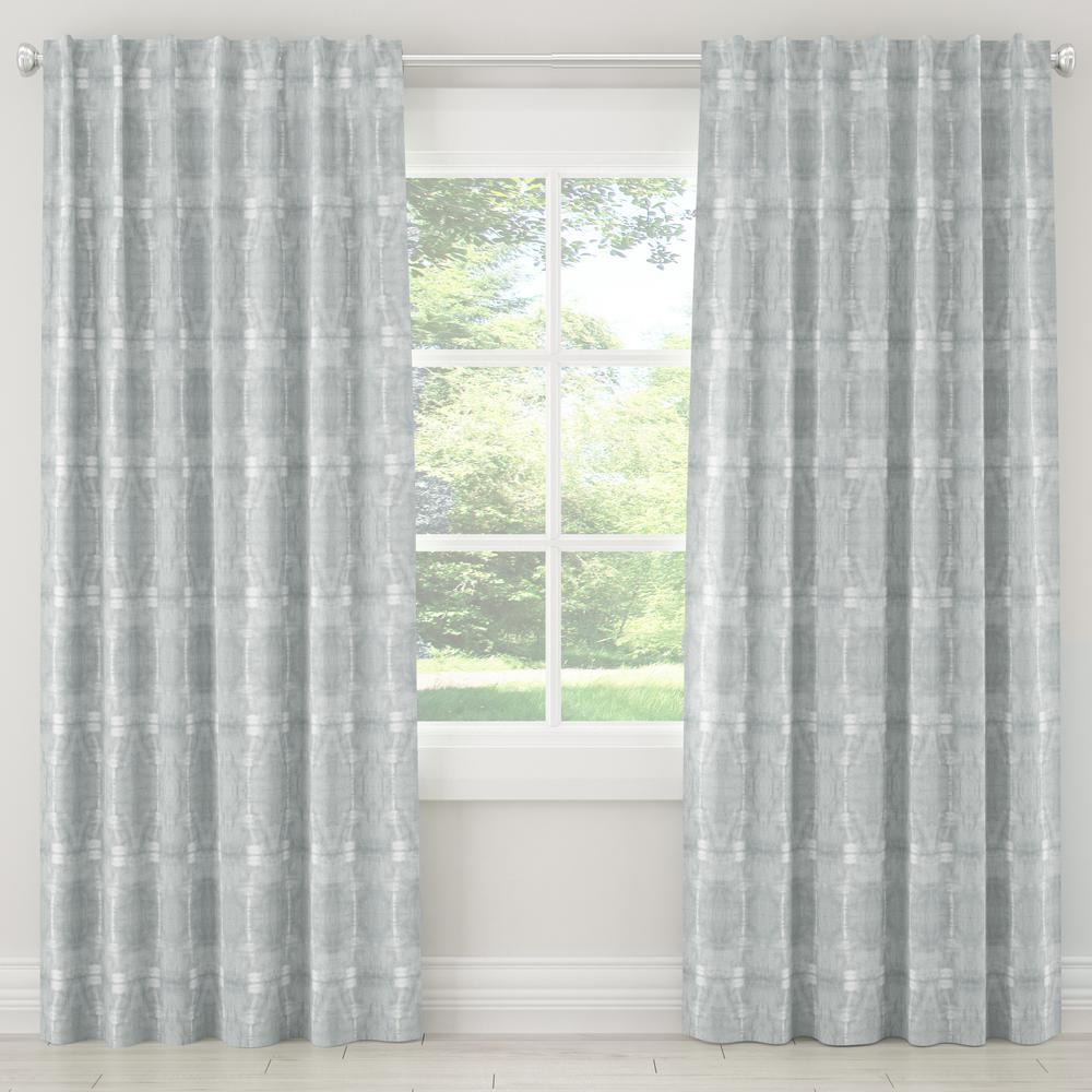 50 in. W x 108 in. L Unlined Curtains in Bali Mist