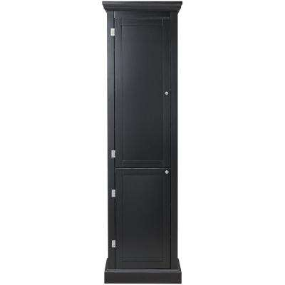 Prescott Black Modular Kitchen Pantry with 2-Doors