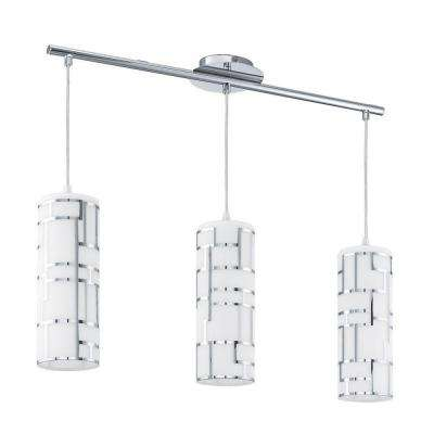 Bayman 3-Light Chrome Hanging Light