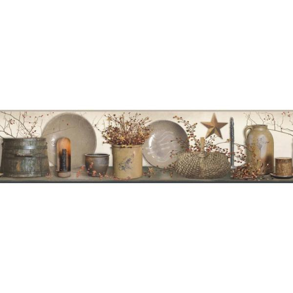York Wallcoverings Country Keepsakes Country Quotes