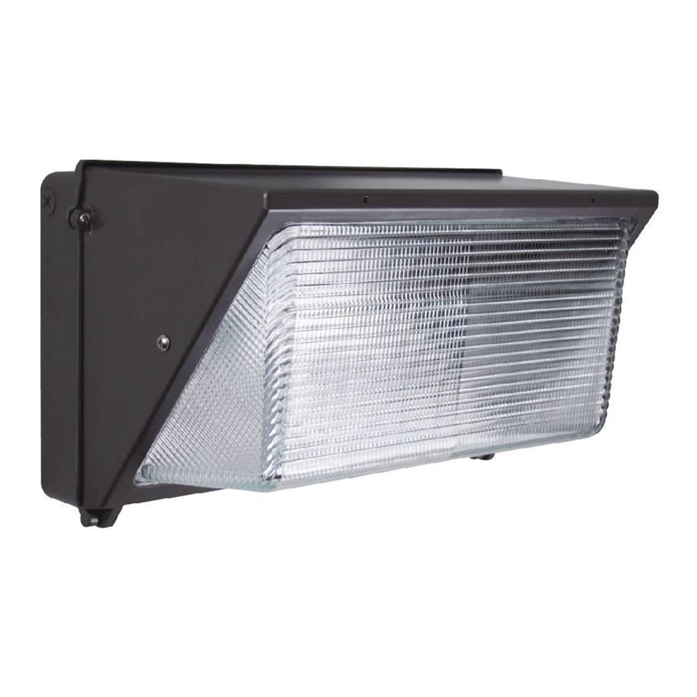 Innoled 36-Watt Charcoal Black Integrated LED Wall Pack