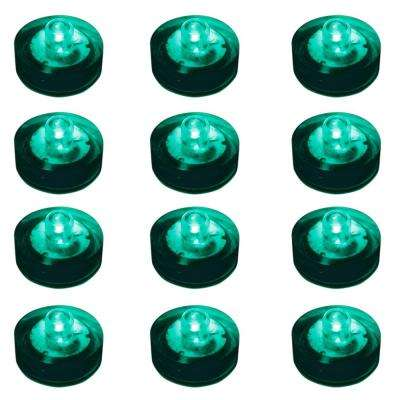 Teal Submersible LED Lights (Box of 12)