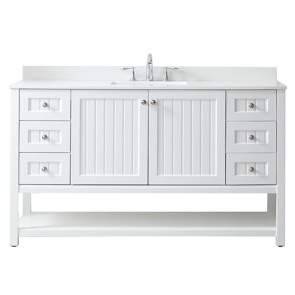 Fine Martha Stewart Living Single Sink 60 Inch Vanities Interior Design Ideas Gentotryabchikinfo