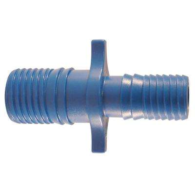 1 in. x 3/4 in. Blue Twister Polypropylene Insert Coupling