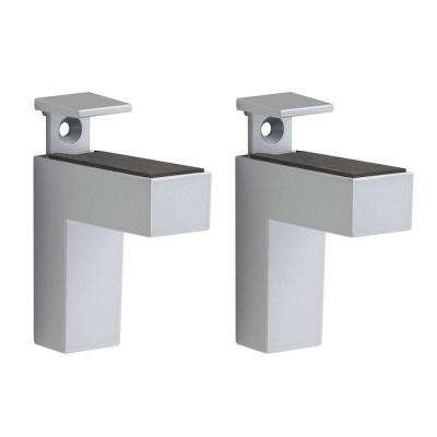Eliot 3/16 in. - 1-1/2 in. Adjustable Shelf Support in Silver