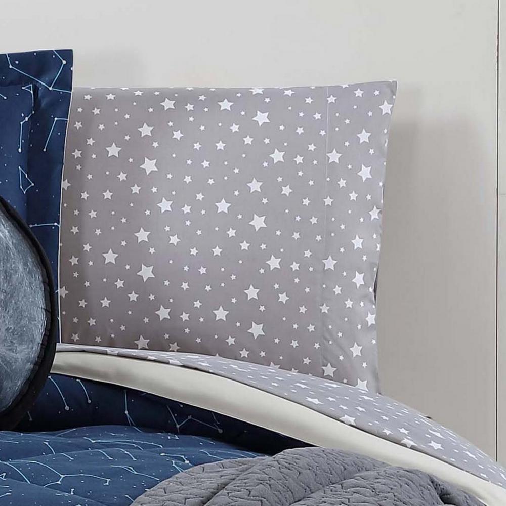 Printed Stars Twin Sheet Set