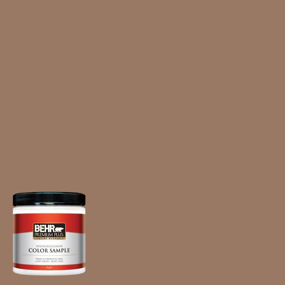 8 oz. #250F-5 Fudge Bar Interior/Exterior Paint Sample