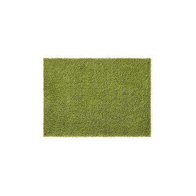 Bella Collection Green 1 ft. 8 in. x 2 ft. 7 in. Accent Rug