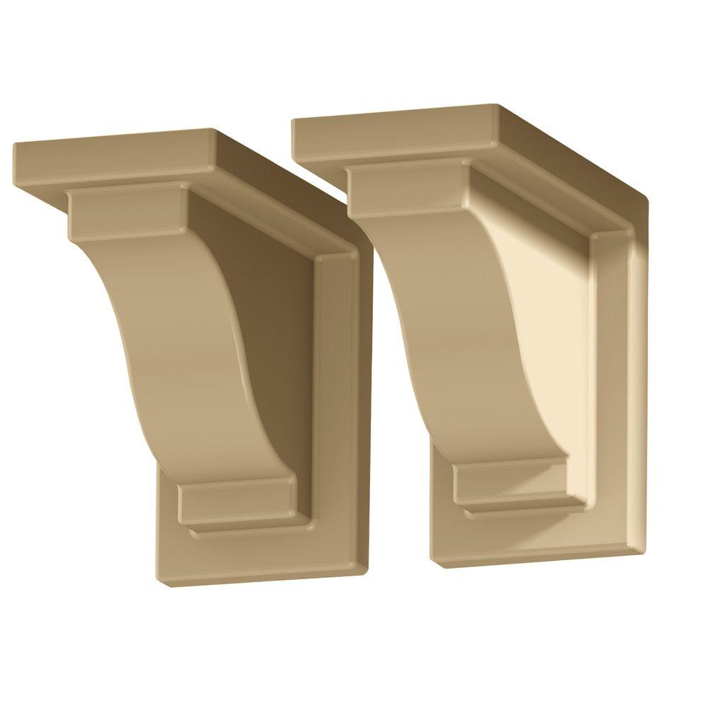 null Yorkshire Decorative Clay Brackets (2-Pack)