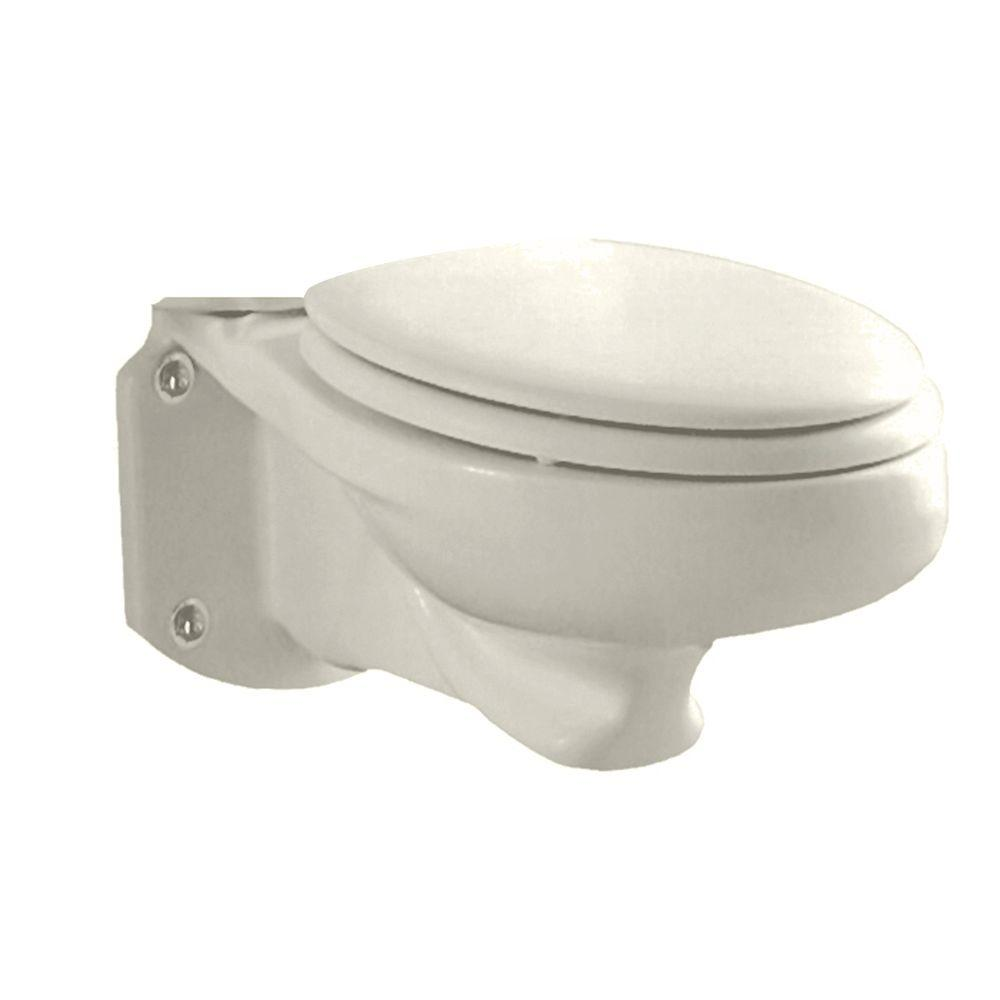Glenwall Elongated Pressure Assist Toilet Bowl Only in Linen