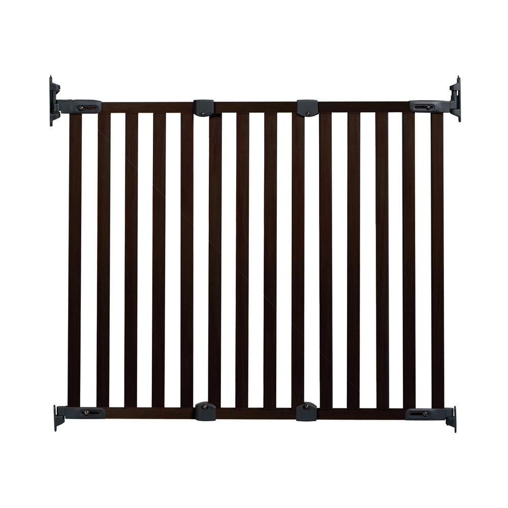 KidCo 31 in. H Hardware Mount Gate Angle Mount Wood Safeway Wall ...