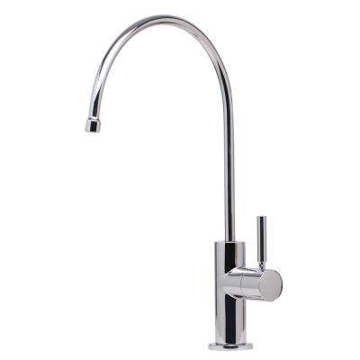 Single-Handle Instant Cold Water Dispenser in Polished Stainless Steel