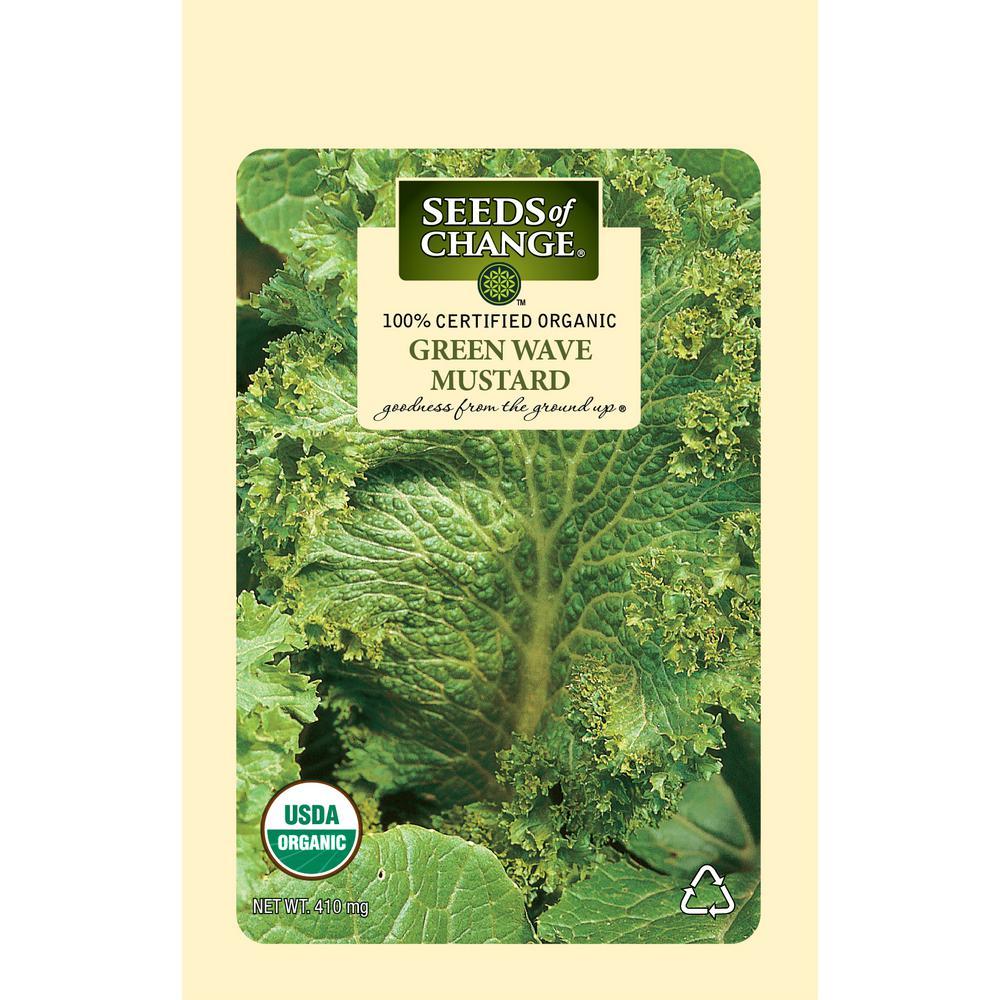Organic Green Wave Mustard Vegetable