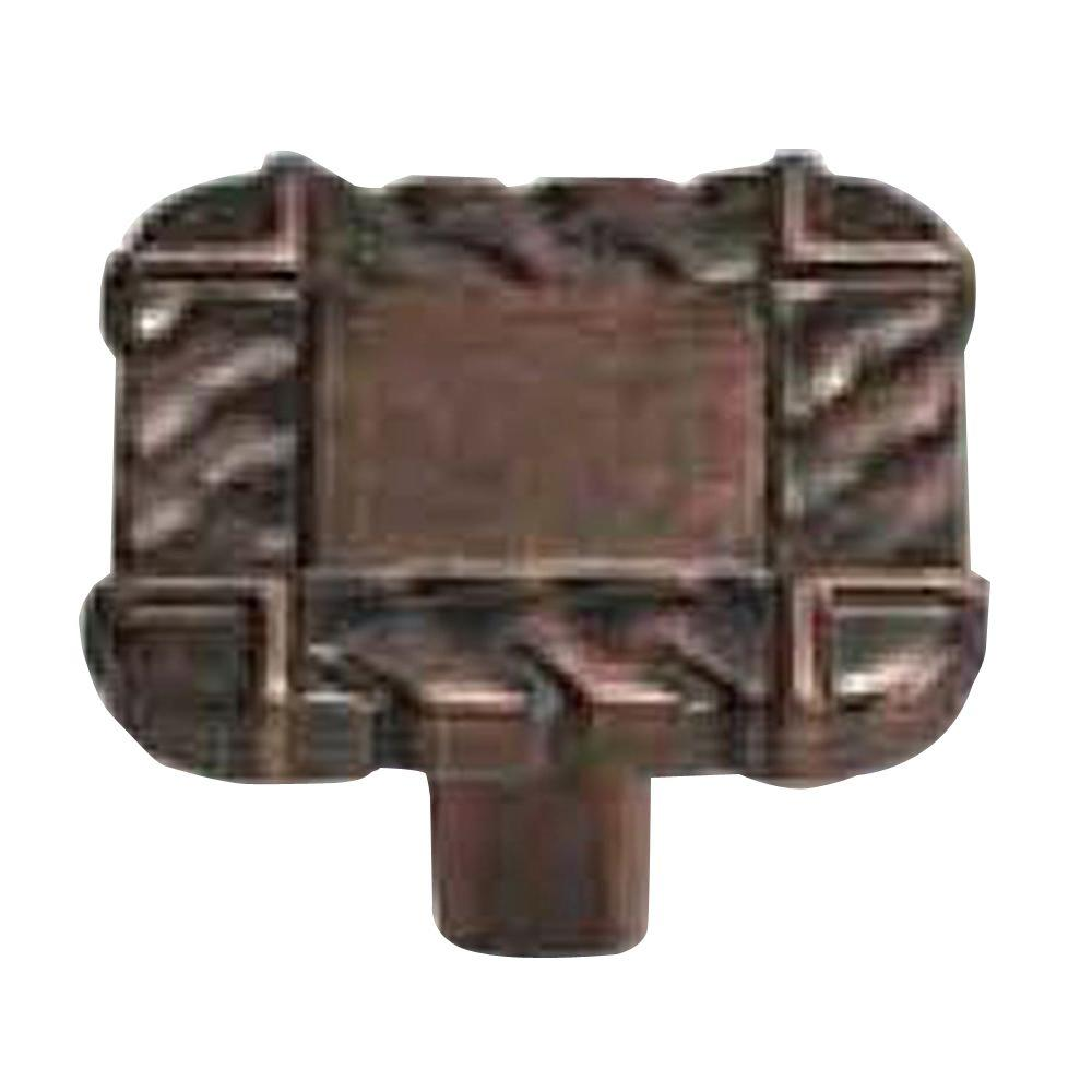1-1/4 in. Antique Copper Cabinet Knob