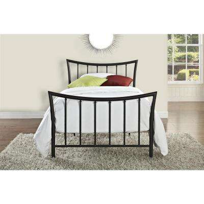 Bali Bronze Twin Bed Frame