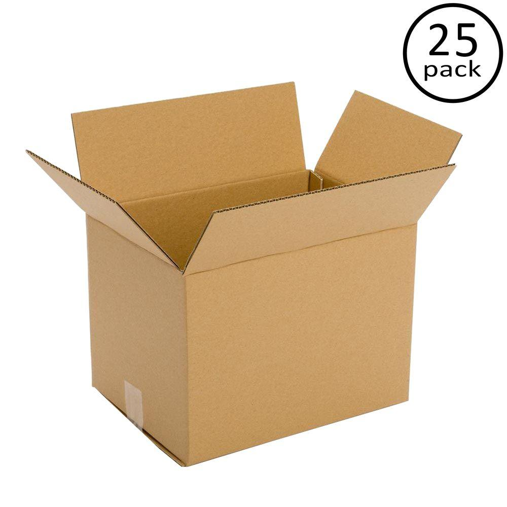 12 in. x 10 in. x 8 in. 25 Moving Box