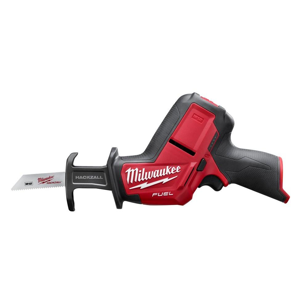 M12 FUEL 12-Volt Lithium-Ion Cordless HACKZALL Reciprocating Saw (Tool Only)