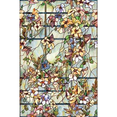 24 in. x 36 in. Trellis Decorative Window Film