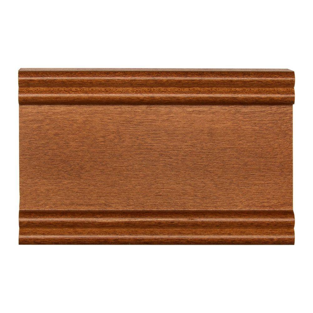 4 in. x 2-1/2 in. Cabinet Door Sample in Maple Cognac