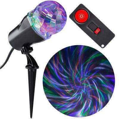 LED Projection Comet Spiral with Remote
