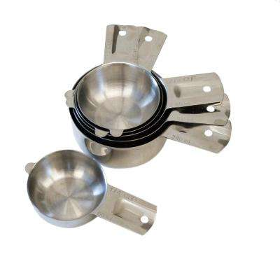 Endurance 6-Piece Stainless Steel Measuring Cup Set