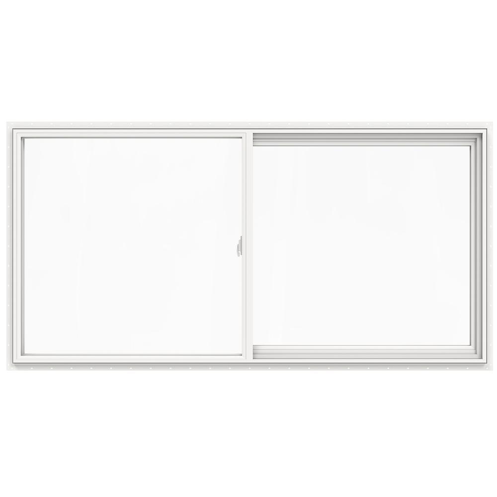 JELD-WEN 71.5 in. x 35.5 in. V-2500 Series Left-Hand Sliding Vinyl Window