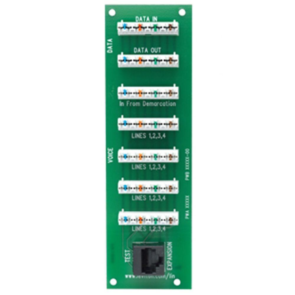 Leviton Structured Media VDSL Bridged Phone Board-DISCONTINUED
