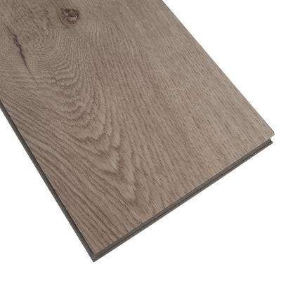 Herritage Mystic Gray 7 in. x 48 in. Rigid Core Luxury Vinyl Plank Flooring (19.04 sq. ft. / case)