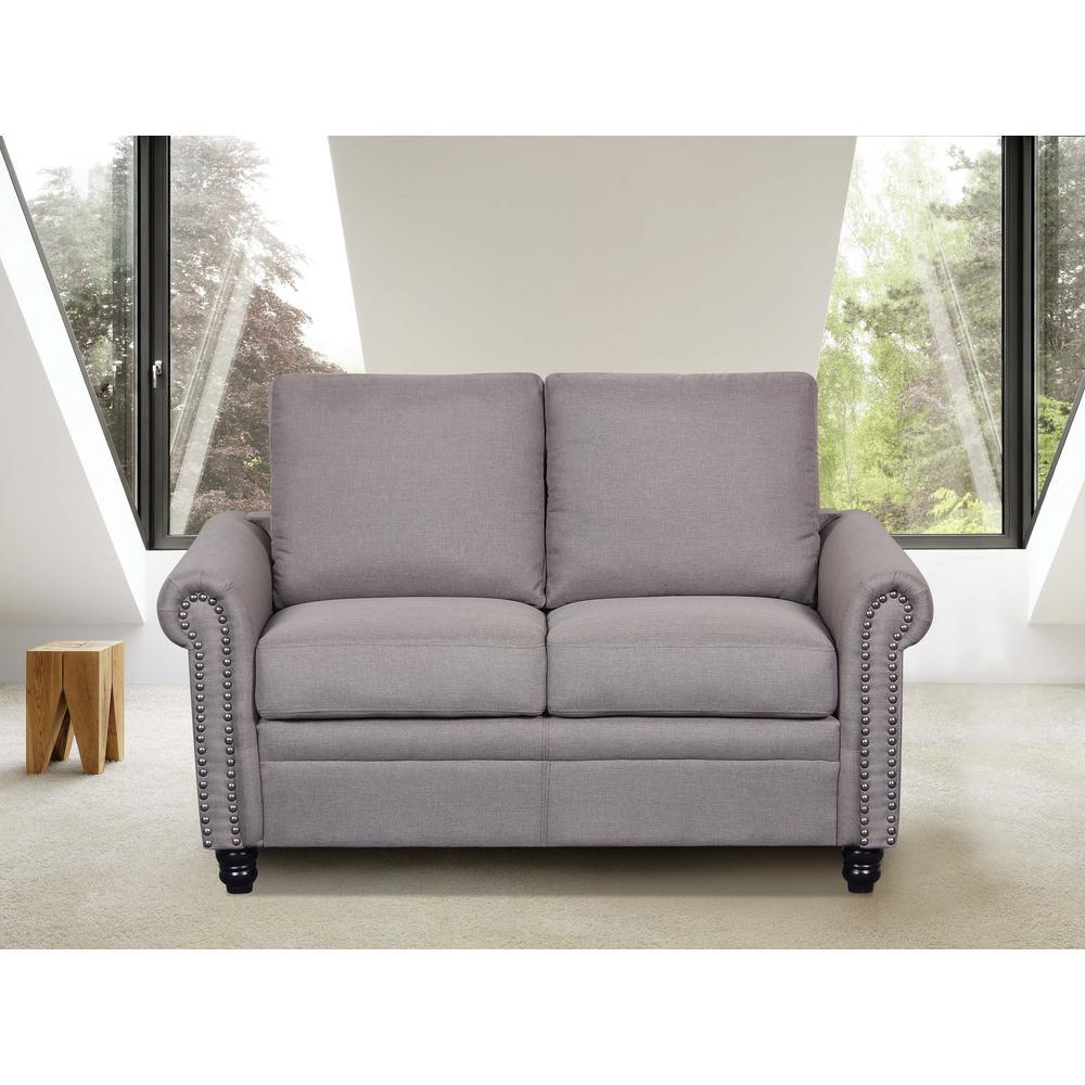 Us Pride Furniture Leno Light Grey
