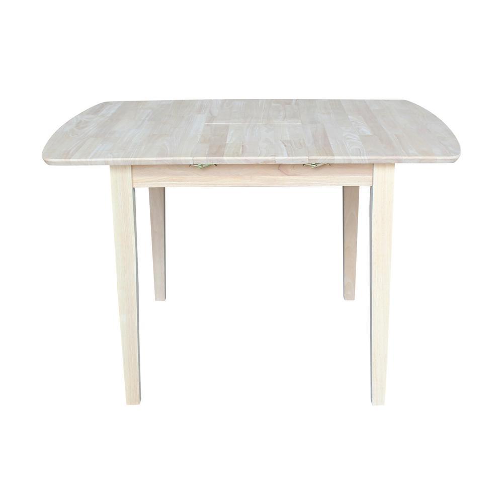 Unfinished Shaker Leg Dining Table