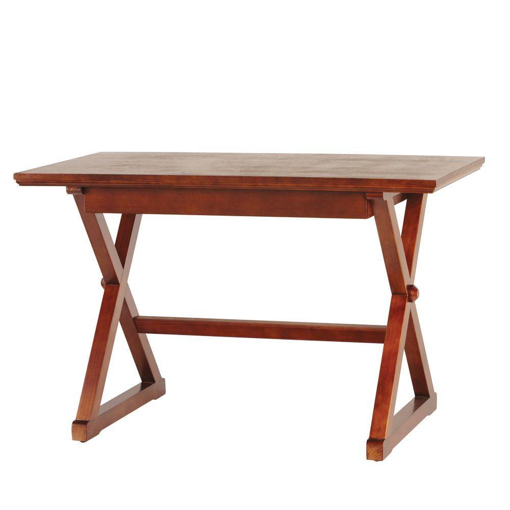 Home Decorators Collection Brexley Chestnut Writing Desk