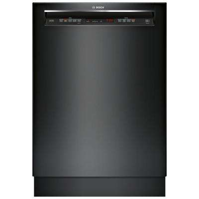300 Series Front Control Tall Tub Dishwasher in Black with Stainless Steel Tub and 3rd Rack, 44dBA