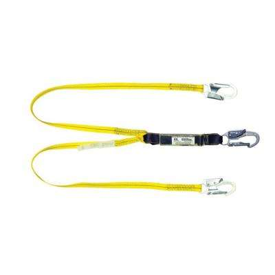6 ft. Double Leg Shock Absorbing Lanyard