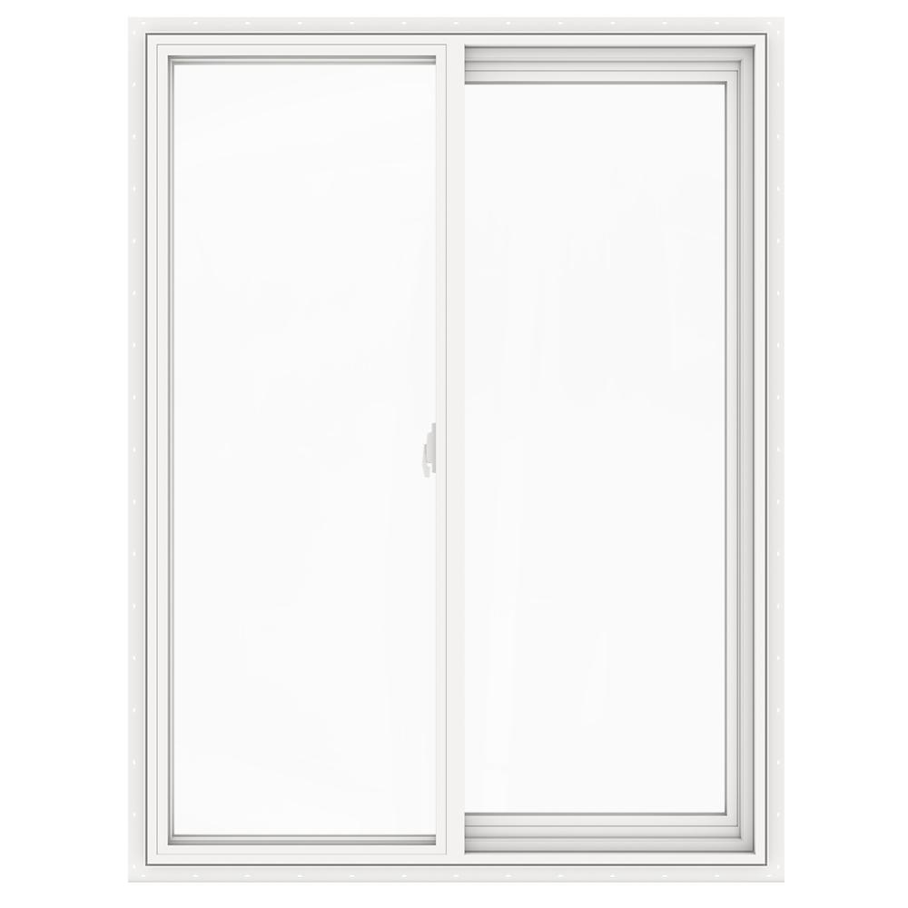 JELD-WEN 35.5 in. x 47.5 in. V-2500 Series Left-Hand Sliding Vinyl Window