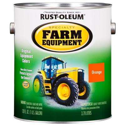 1 gal. Farm Equipment Allis Chalmers Orange Gloss Enamel Paint (2-Pack)