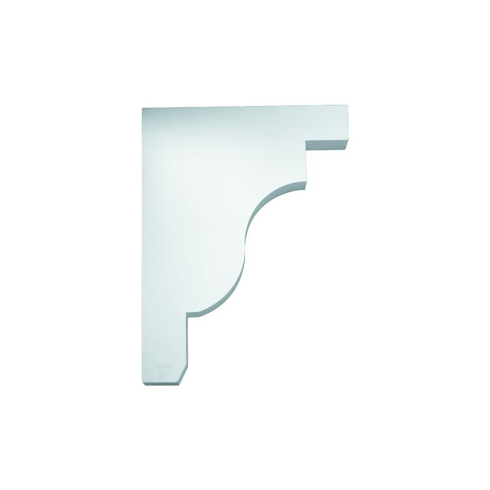 Fypon 18 in x 3 in x 24 in polyurethane bracket for Painting fypon